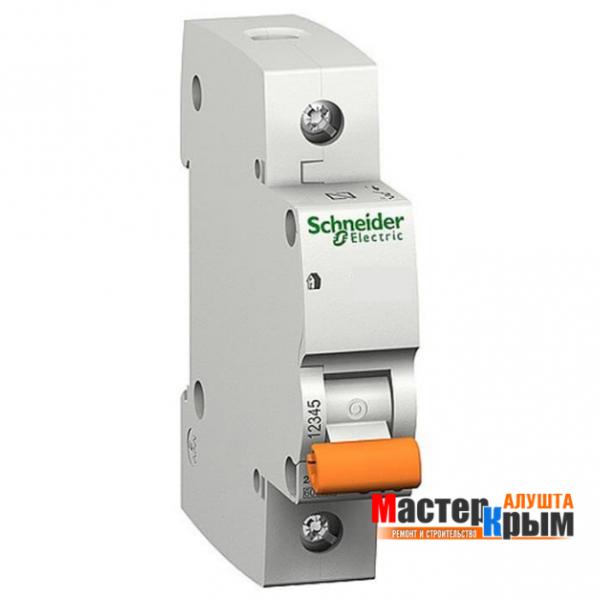 Автоматический выключатель 1Ф 16А SCHNAIDER