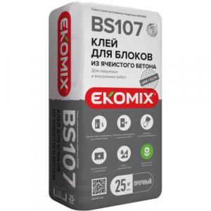 Клей для газоблока Экомикс 107 25 кг