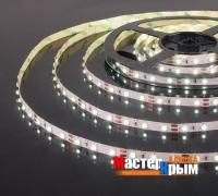 Светодиодная лента  IP20 4,8 Вт/м 5м холодный белый