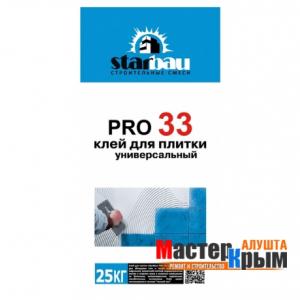 Клей для плитки StarBau PRO 33 25 кг