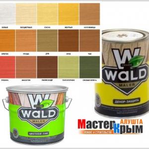Лак WALD бесцветный 1л