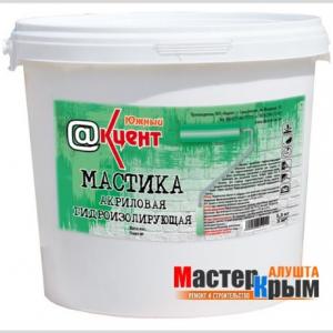 Мастика акриловая гидроизол. ВД-АК-1115 (1,3кг)