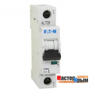 Автоматический выключатель 1Ф 10А ЕАТОN