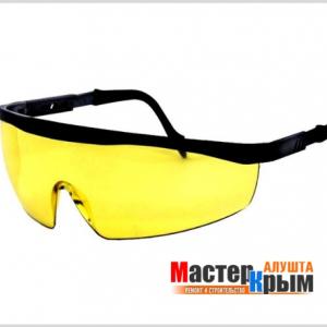 Очки защитные Универсал желтые У-02