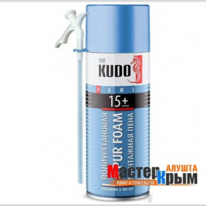 Пена бытовая KUDO 15+ 520 мл