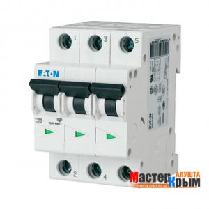 Автоматический выключатель 3Ф 25А ЕАТОN