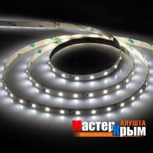 Светодиодная лента  IP20 12 Вт/м 5м холодный белый