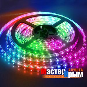 Светодиодная лента  IP65 14,4 Вт/м 5м RGB