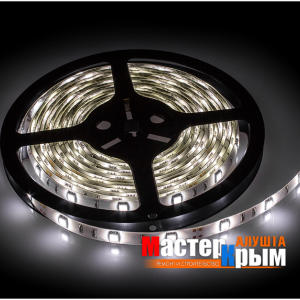 Светодиодная лента  IP65 4,8 Вт/м 5м холодный белый