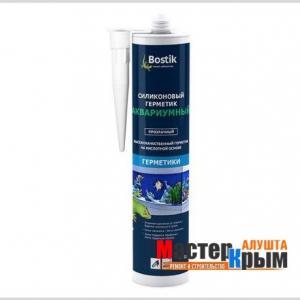 Герметик аквариумный Bostik Aquarium Silikone 310мл