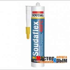 Герметик полиуретановый Soudal Соудафлекс 40FC белый 12*310 мл