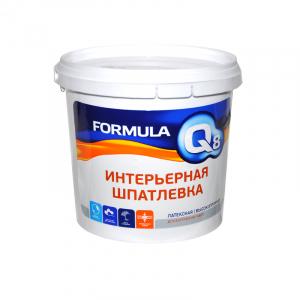 Шпатлевка готовая ФОРМУЛА Q8 16 кг