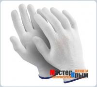 Перчатки нейлоновые белые