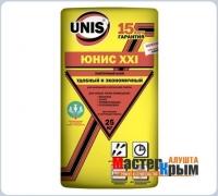 Клей для плитки ЮНИС ХХI 25 кг
