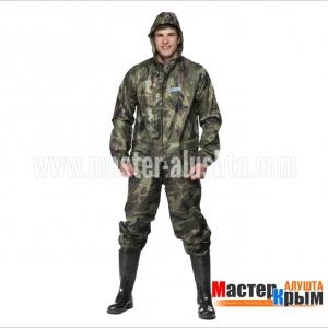 Костюм влагозащитный Хантер зел КМФ куртка/брюки на резинках