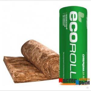 Вата минеральная ECCOROL рулон (20 м2)