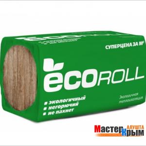 Вата минеральная ECCOROL плита 100мм.(6 м2)