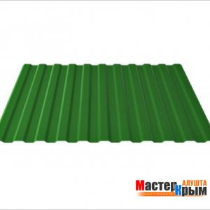 Профнастил 1,15*2*0,45 зеленый